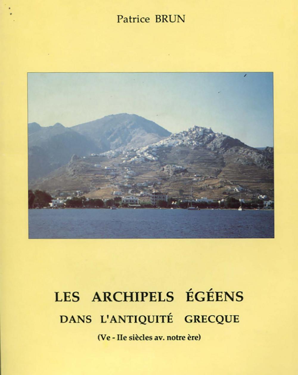 Les archipels égéens dans l'Antiquité grecque