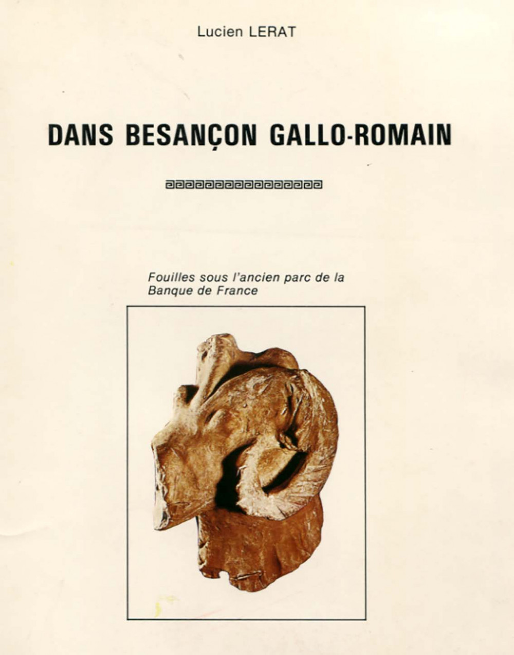 Dans Besançon Gallo-Romain