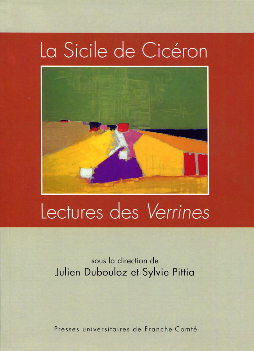 La Sicile de Cicéron