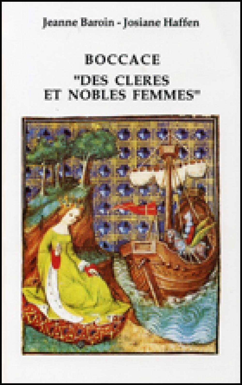 """Boccace """"Des cleres et nobles femmes"""" (Chap. I-LII)"""