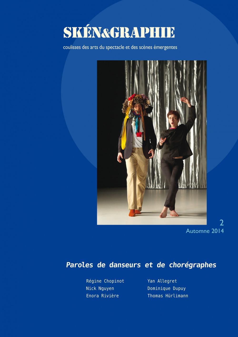 Paroles de danseurs et de chorégraphes
