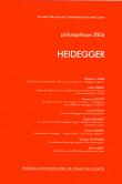Philosophique 2006 : HEIDEGGER