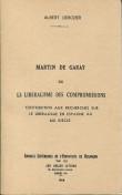 Martin de Garay ou le libéralisme des compromissions