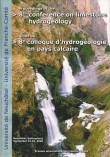 Actes du 8e colloque d'hydrogéologie en pays calcaire