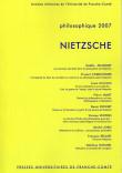 Philosophique 2007 : NIETZSCHE