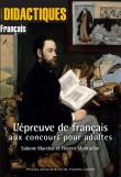 L'épreuve de français aux concours pour adultes