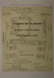 L'organe de la pensée.Biologie et philosophie chez Auguste Comte