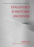 Dialogues d'Histoire Ancienne, supplément 3
