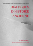 Dialogues d'Histoire Ancienne, supplément 4