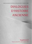 Dialogues d'Histoire Ancienne, supplément 8