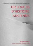 Dialogues d'Histoire Ancienne supplément 10