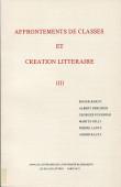 Affrontements de classes et création littéraire II