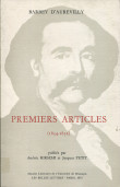 Barbey d'Aurevilly. Premiers articles (1834-1852)
