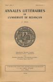 Catalogue des collections archéologiques de Besançon I