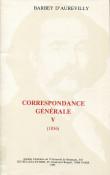 Correspondance générale de Barbey d'Aurevilly V (1856)
