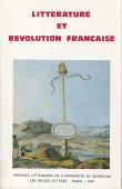 Littérature et révolution française
