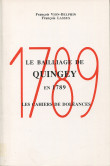Le bailliage de Quingey en 1789