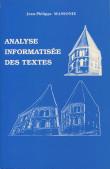 Analyse informatisée des textes