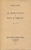 "Le manuscrit du ""Roi s'amuse"""