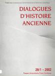 Dialogues d'Histoire Ancienne 28/1