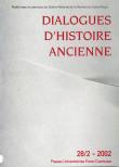 Dialogues d'Histoire Ancienne 28/2