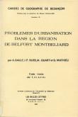 Problèmes d'urbanisation dans la région de Belfort-Montbéliard