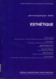 Philosophique 2004 : ESTHÉTIQUE