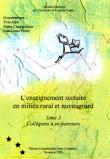 L'enseignement scolaire en milieu rural et montagnard. Tome 3