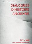 Dialogues d'Histoire Ancienne 31/2