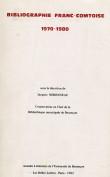 Bibliographie franc-comtoise 1970-1980