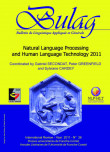 BULAG 36 – Natural Language Processing and Human Language Technology 2011