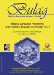 BULAG 39 – Natural Language Processing and Human Language Technology 2014