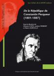 <i>De la République</i> de Constantin Pecqueur (1801-1887)