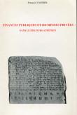 Finances publiques et richesses privées dans le discours athénien