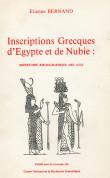 Inscriptions Grecques d'Egypte et de Nubie : répertoire bibliographique des IGRR
