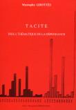 TACITE Index thématique de la dépendance
