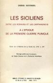 Les siciliens entre les romains et les carthaginois à l'époque de la première guerre punique