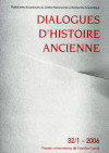 Discours religieux dans l'Antiquité