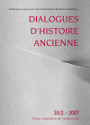Dialogues d'Histoire Ancienne 16/2