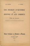 Barbey d'Aurevilly et l'esthétique : les paradoxes de l'écriture
