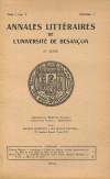 Catalogue des collections archéologiques de Besançon V