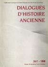 Dialogues d'Histoire Ancienne supplément 15