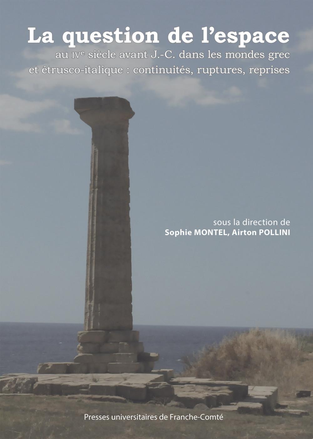 Colonne du temple extra-urbain d'Héra au Cap Lacinium_couverture-montel