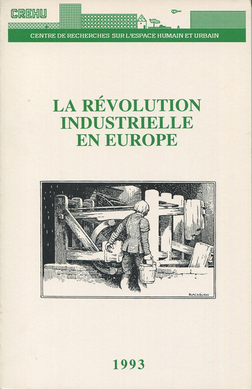 La révolution industrielle en Europe