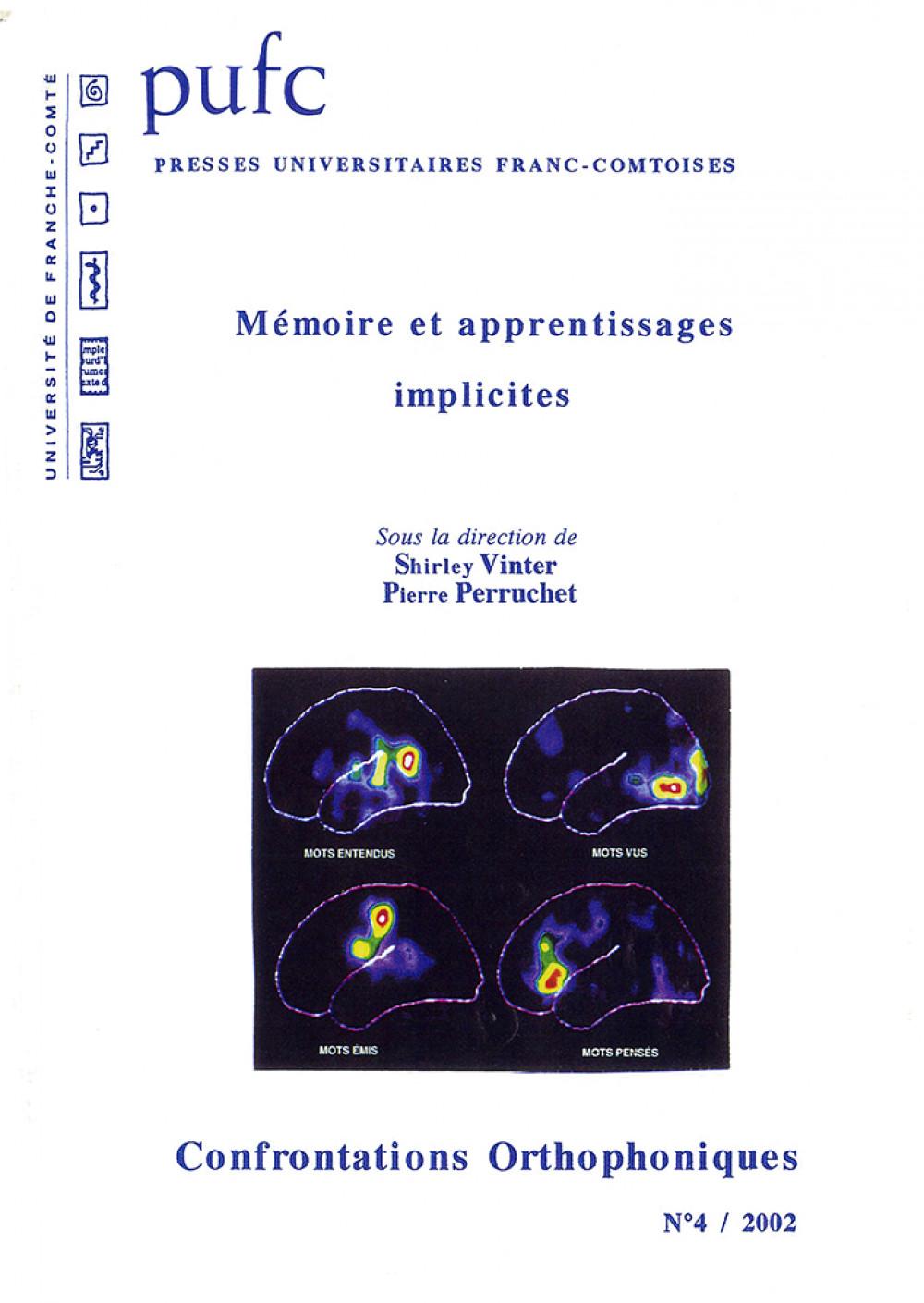 Mémoire et apprentissages implicites