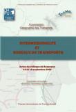 Interrégionalité et réseaux de transports