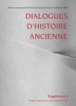 Dialogues d'Histoire Ancienne supplément 6