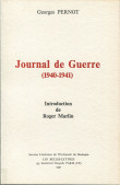 Georges Pernot. Journal de la guerre (1940-1941)