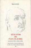 Tête d'or de Paul Claudel