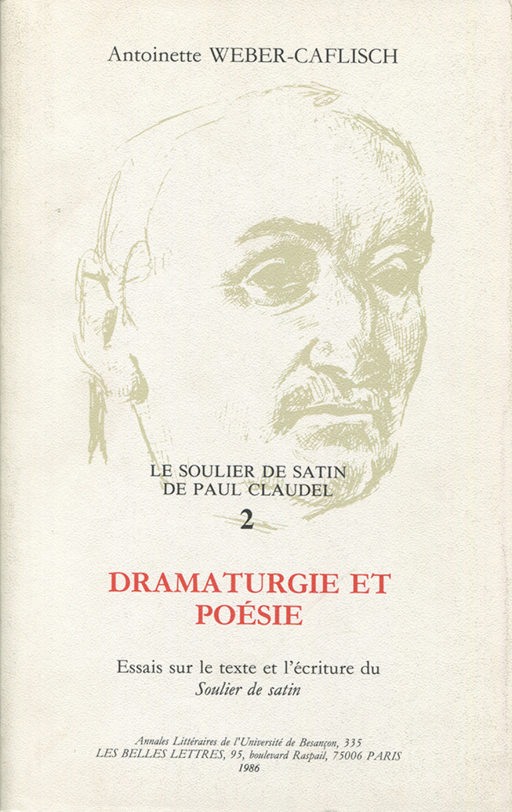 Le soulier de satin de Paul Claudel 2